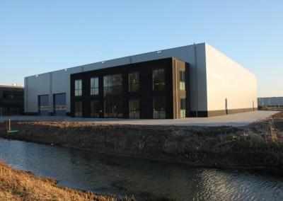 Nieuwbouw bedrijfspand Plettenburglaan Geldermalsen