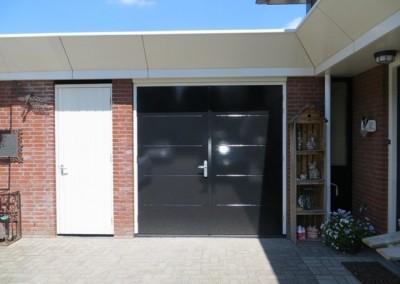 Openslaande deuren garage Verlengde Bredestraat Meteren