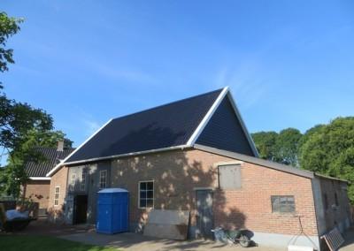 Verbouwing schuur Burgemeester Roozeveld van de Venlaan Geldermalsen