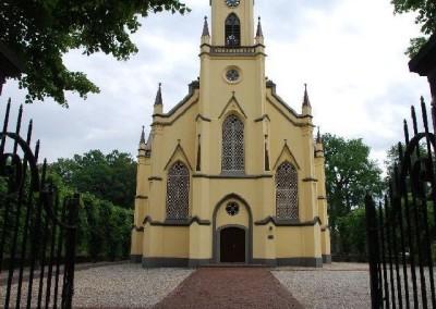 Toegangsdeuren entree kerk Neerijnen