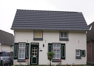 Dakrenovatie voorhuis D.J. van Wijkstraat Geldermalsen
