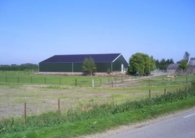 Nieuwbouw fruitloods Buren